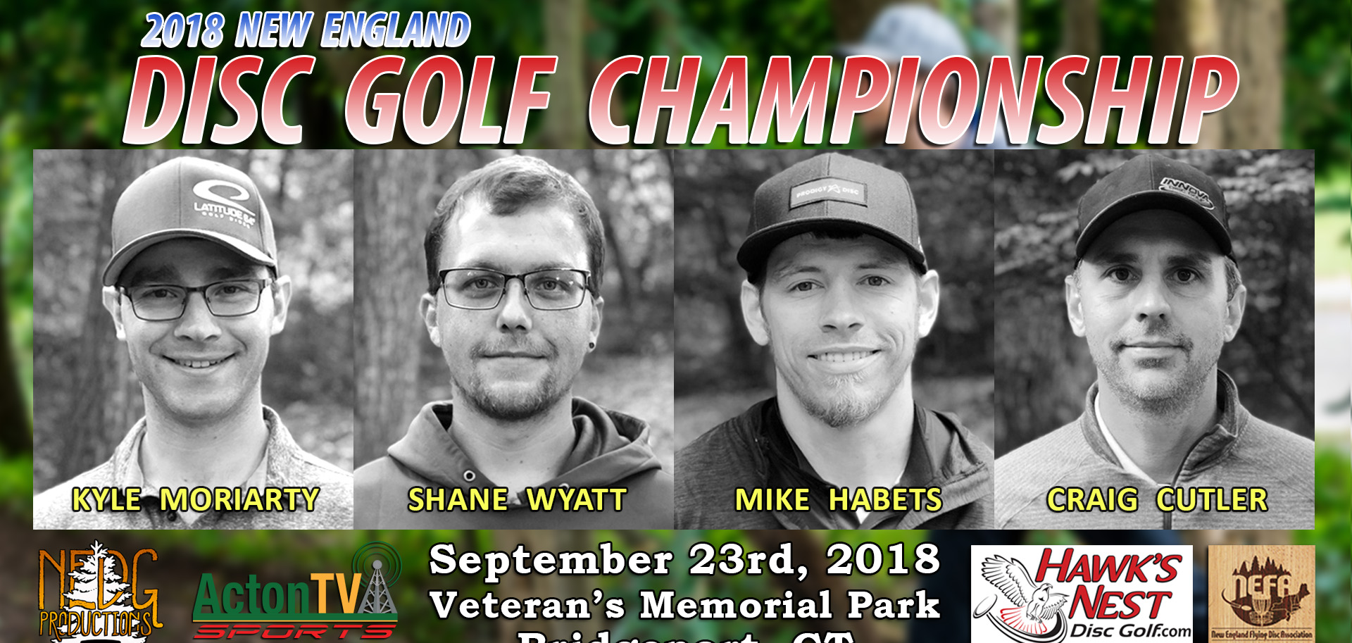 The 2018 New England Disc Golf Championship