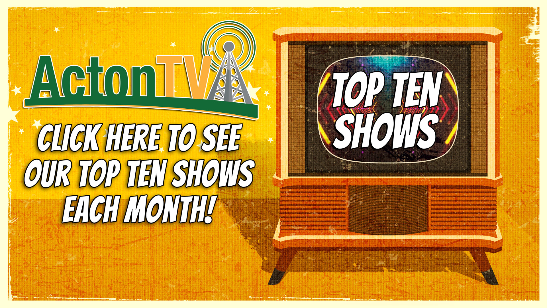 Top Ten Shows of the Month!