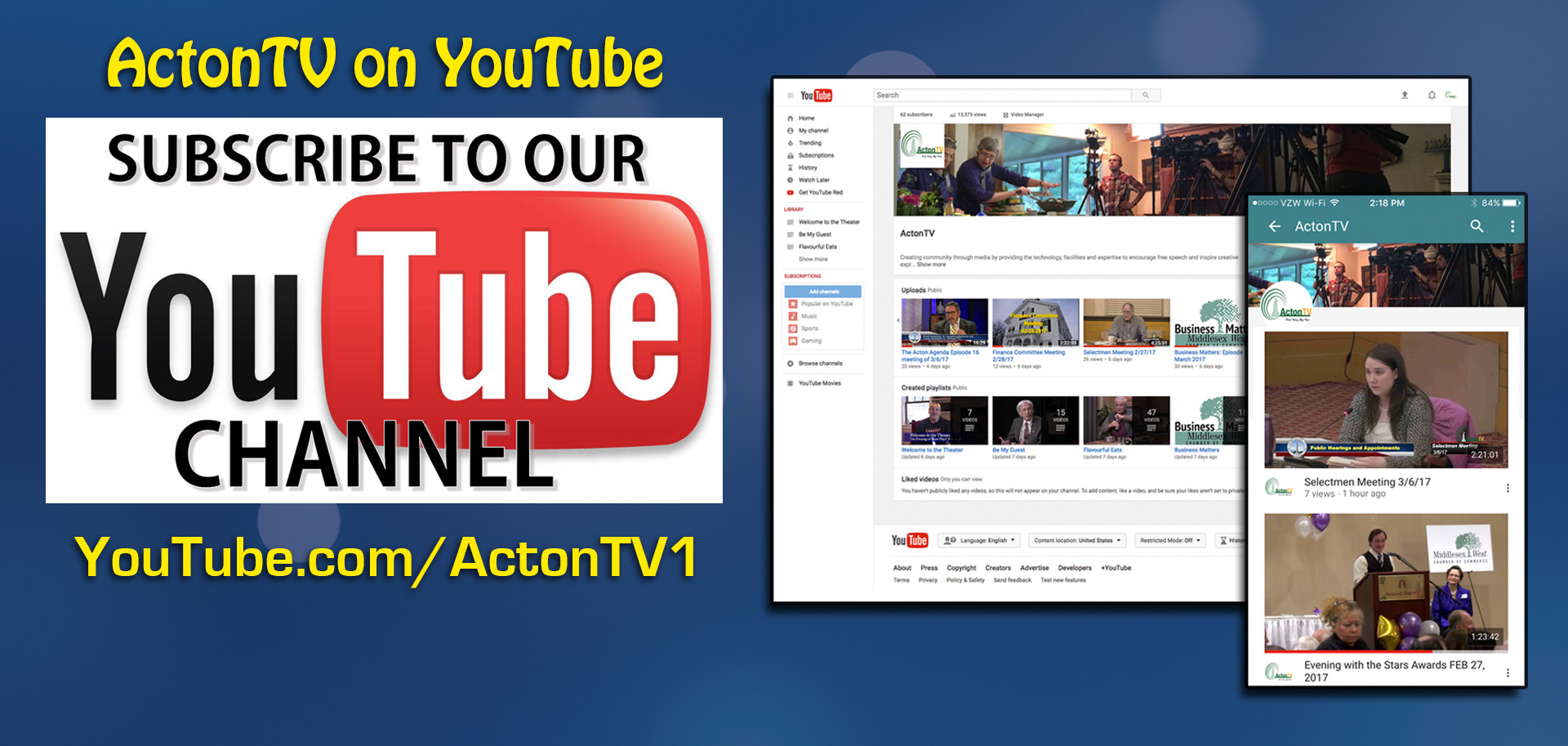ActonTV YouTube Channel