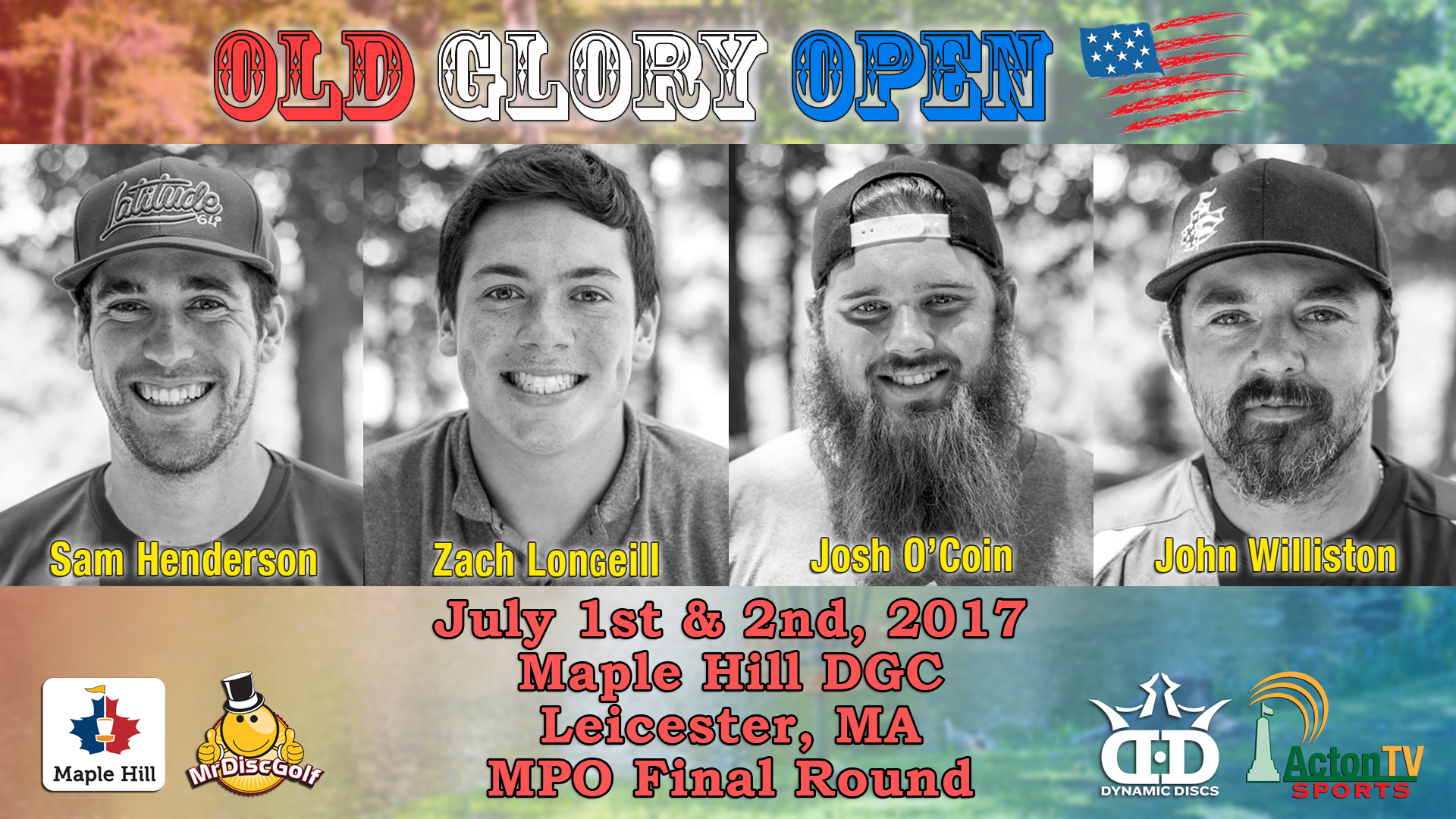 2017 Old Glory Open - Disc Golf Tournament